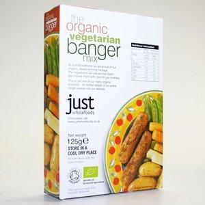 Just Wholefoods, Vegetarian Banger Mix 125g
