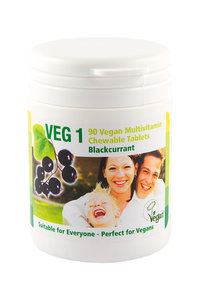 VEG 1 Multivitamin blackcurrant 90tabs