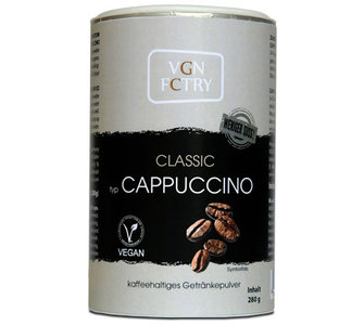 VGN FCTRY Instant Cappuccino Classic minder zoet 280g