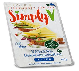 Simply V Vegane Geniesserscheiben Natural 150g *THT 20.06.2019*