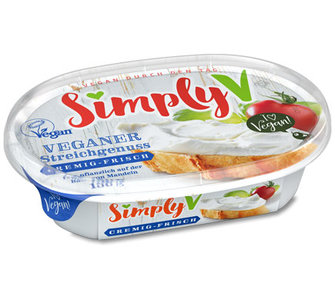 Simply V Veganer Streichgenuss spread creamy-fresh 150g *THT 11.08.220*