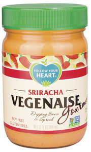 Follow Your Heart Sriracha Vegenaise 340g *THT 08.07.2020*