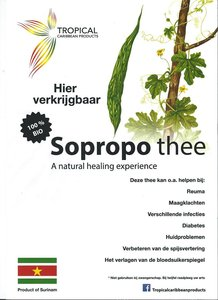 Tropical Caribbean Products Bio Sopropo thee 25g