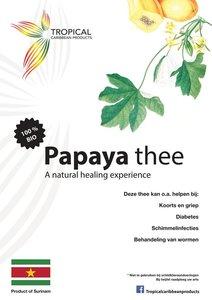 Tropical Caribbean Products Bio Papaya Thee 25g