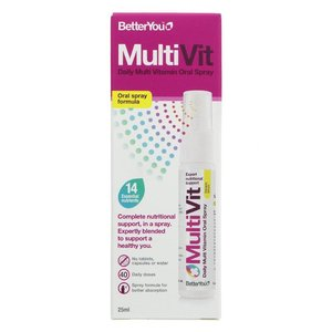 Better You MultiVit Multivitamin Spray 25ml