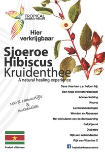 Tropical Caribbean Products Sjoeroe / Hibiscus kruidenthee 25g