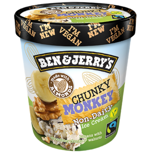 Ben & Jerry's Dairy Free Chunky Monkey 500ml