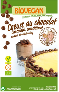 Biovegan Chocoladehartjes 35g