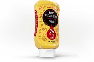 Callowfit Honey mustard Style Saus 300g