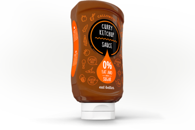Callowfit Curry Ketchup Saus 300g