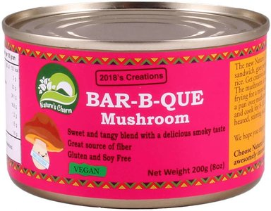 Nature's Charm jackfruit barbeque mushroom 200g