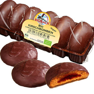 Rosmarin Bioback CHERRY BOMBS gingerbread organic 200g