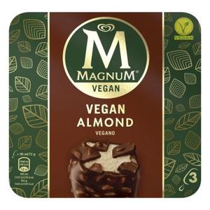 Magnum Vegan almond 270ml (3 X 90ML)
