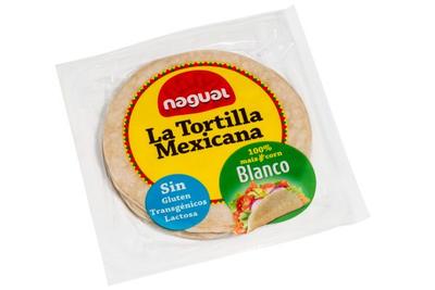 Nagual La Tortilla Mexicana Blanco (8 stuks) 15cm 200g *THT 30.03.2020*