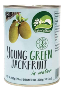 Nature's Charm young groen jackfruit in water 565g