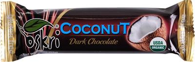 Oskri Coconut dark chocolate 53g
