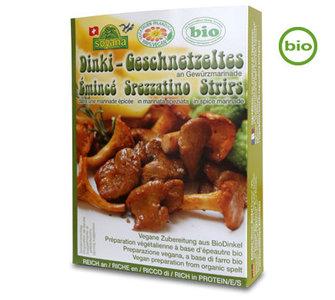 Soyana Organic DINKI STRIPES with marinade 200g